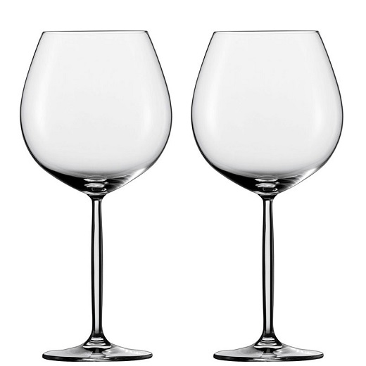 Schott Zwiesel Diva burgundy glass - set of 2
