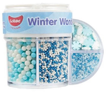Go Bake winter wonders sprinkles