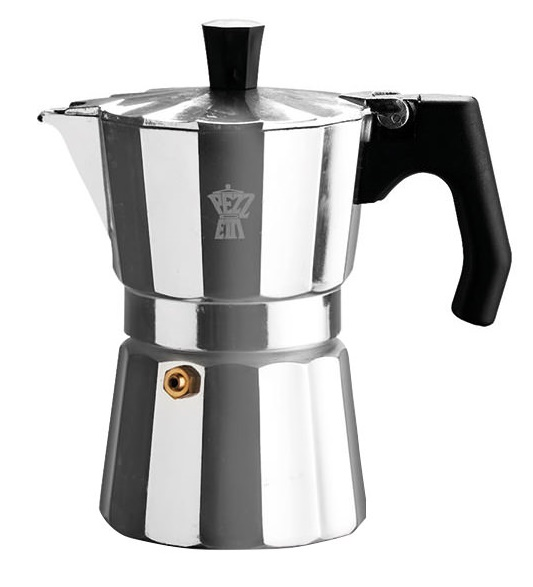 Pezzetti Luxexpress stovetop coffee maker - 3 cup