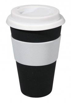 Biodegradable reusable travel mug