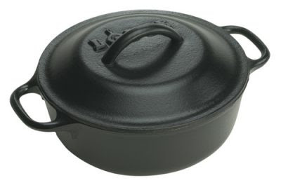 Lodge cast iron dutch oven - 20cm