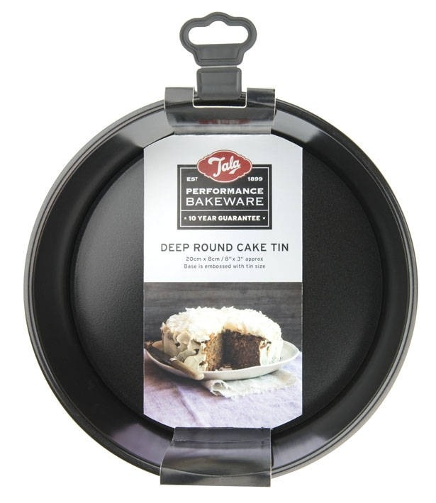Tala Performance deep round loose base cake pan - 20cm