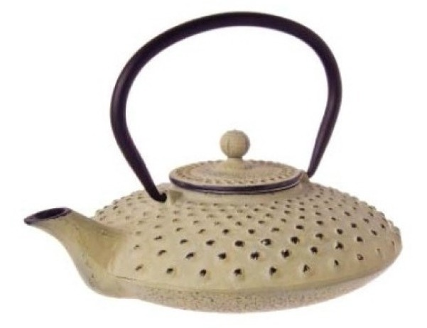Cast Iron hobnail teapot - earth - 750ml