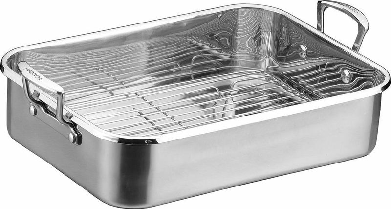 Scanpan Impact roaster with rack - 48cm x 31cm