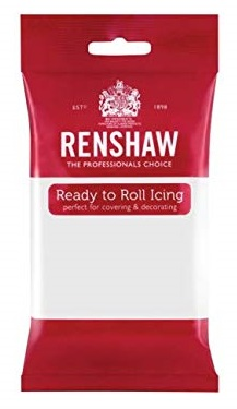 Renshaw ready to roll icing - 250g - white
