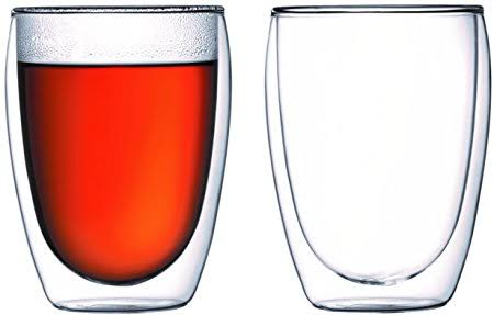 Bodum Pavina double wall glasses - 350ml