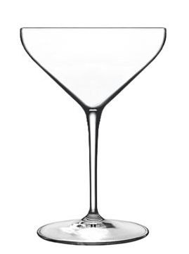 Luigi Bormioli cocktail/ champagne glass - set of 6