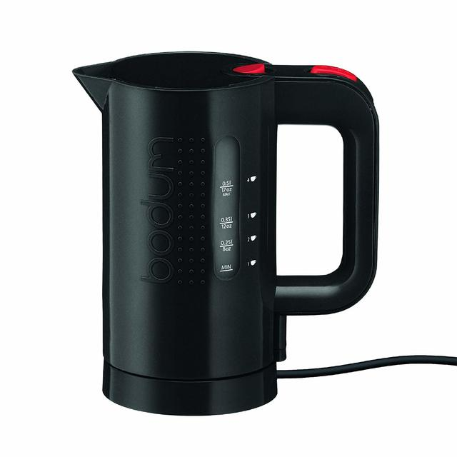 Bodum water kettle - 500ml -  black