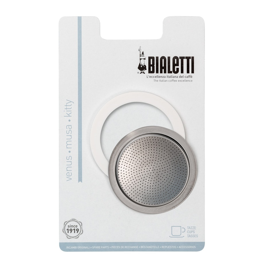 Bialetti silicon seal pack - s/s 10 cup