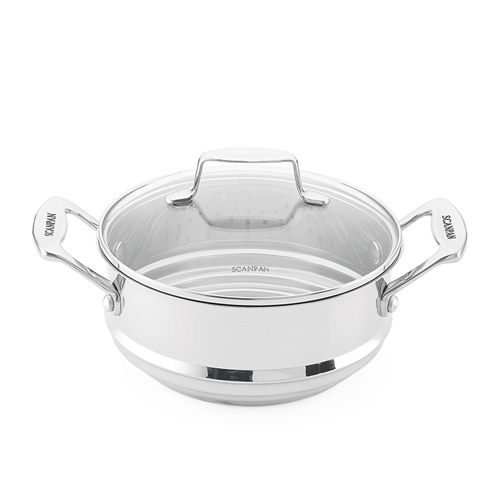 Scanpan multi-steamer insert - 16/18/20cm with 20cm lid
