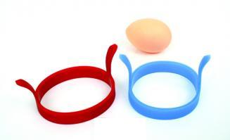 Silicone egg rings