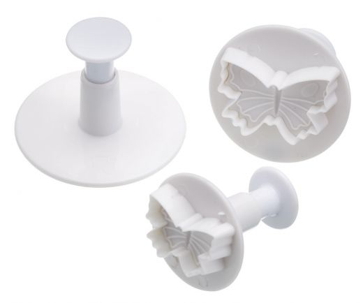 Plunger icing cutters - butterfly