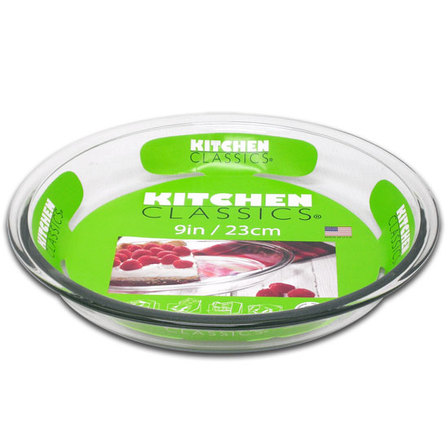 Kitchen Classics glass pie plate