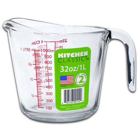 Kitchen Classics glass measuring jug - 1000ml