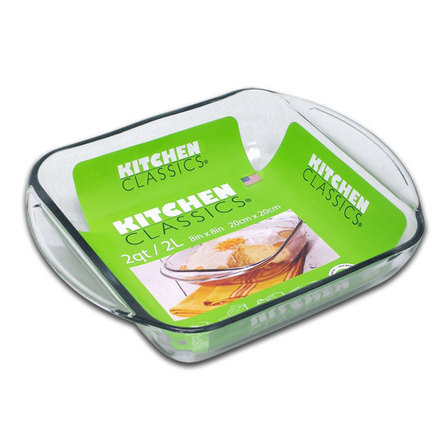 Kitchen Classics square bake dish - 2lt