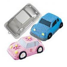 Wilton 3D cruiser car cake pan