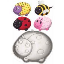Wilton lady bird cake pan