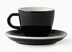 ACME Evo demitasse cup and saucer