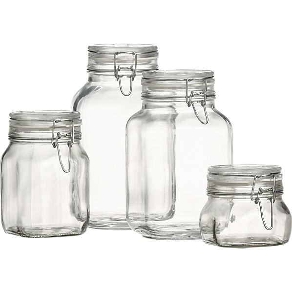 Fido glass jar - 2000ml