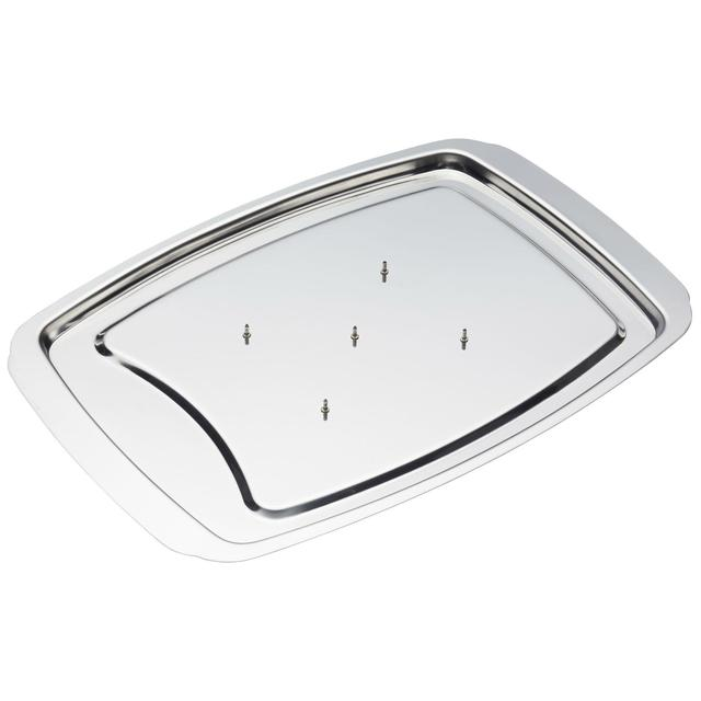 Stainlass steel carving tray