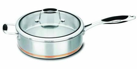 Scanpan Coppernox sautepan - 28cm