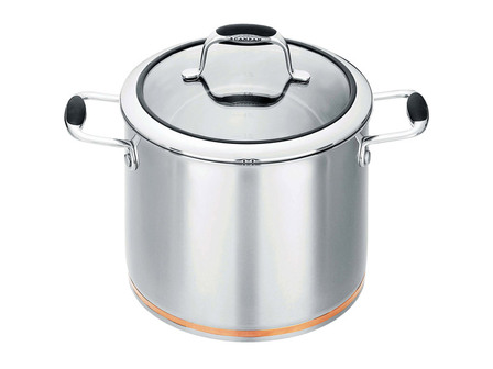 Scanpan Coppernox stock pot - 24cm/7.2lt