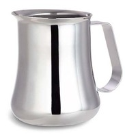 Stainless steel espresso milk frothing jug - 550ml